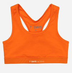 Orange KK Sports Bra