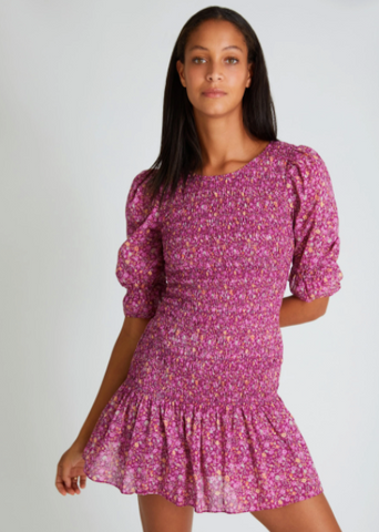 Luppa Cherry Wine Dress