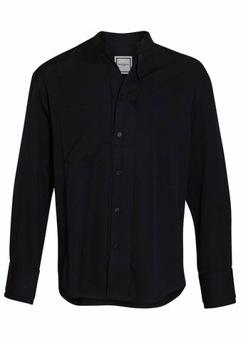 Navy Wool Shirt