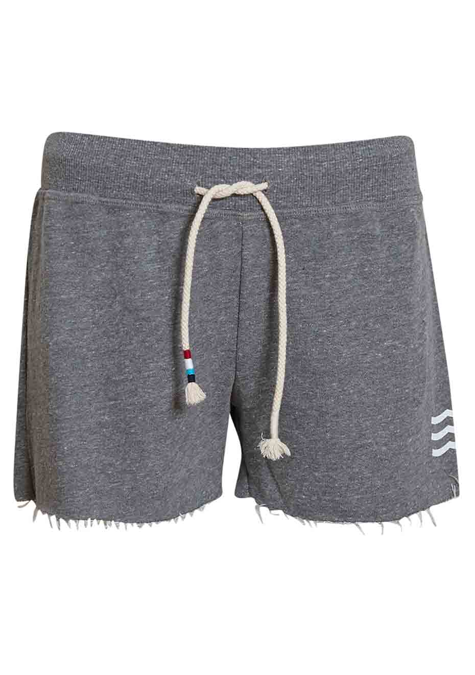 Grey Sol Wave Shorts