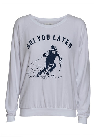 Sol Angeles Ski You Later Sweatshirt