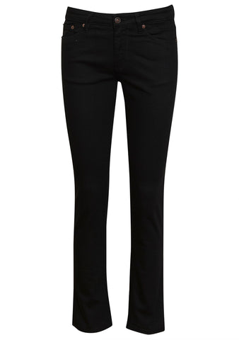 RW003 Rinse Stay Black Regular Jeans