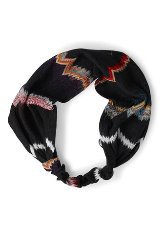 Missoni Black Zig Zag Headband