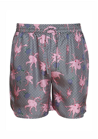 All At Sea Cph Rosehip Wave Sport Shorts