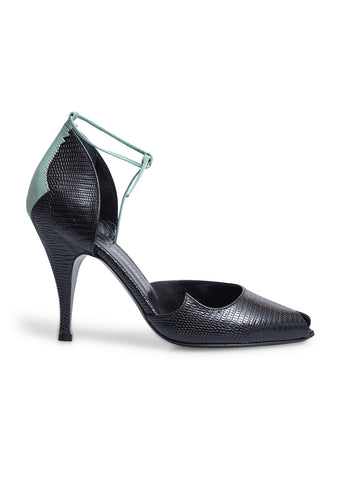 Stærk & Christensen Black Peak Peep Toe Pumps
