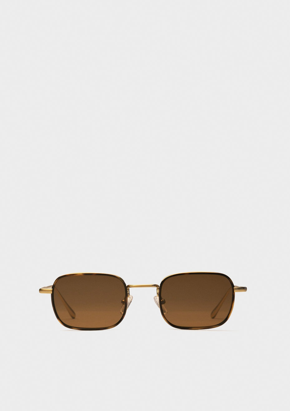 Stanley Brushed Gold Sunglasses