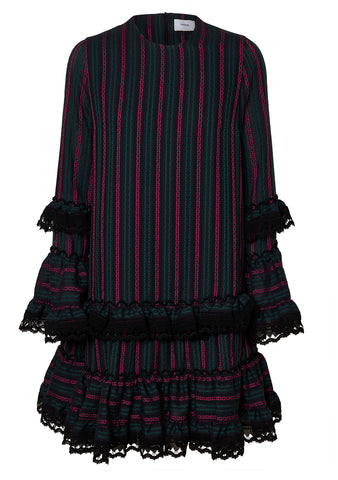 Erdem Maximilla Striped Dress shop online at lot29.dk