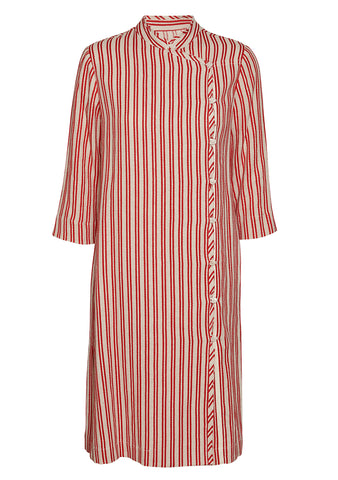 Raquel Allegra Striped Duster Dress