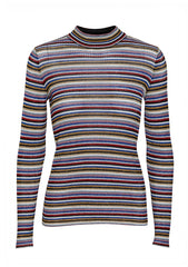 Missoni Women Striped Metallic Sweater