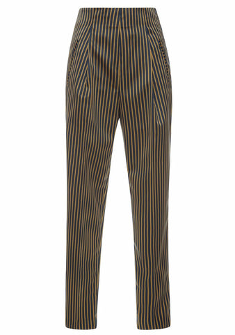 Etro High Waisted Striped Pants LOT#29