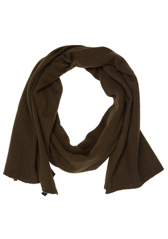 Bad Habits Men Dark Green Cashmere Scarf