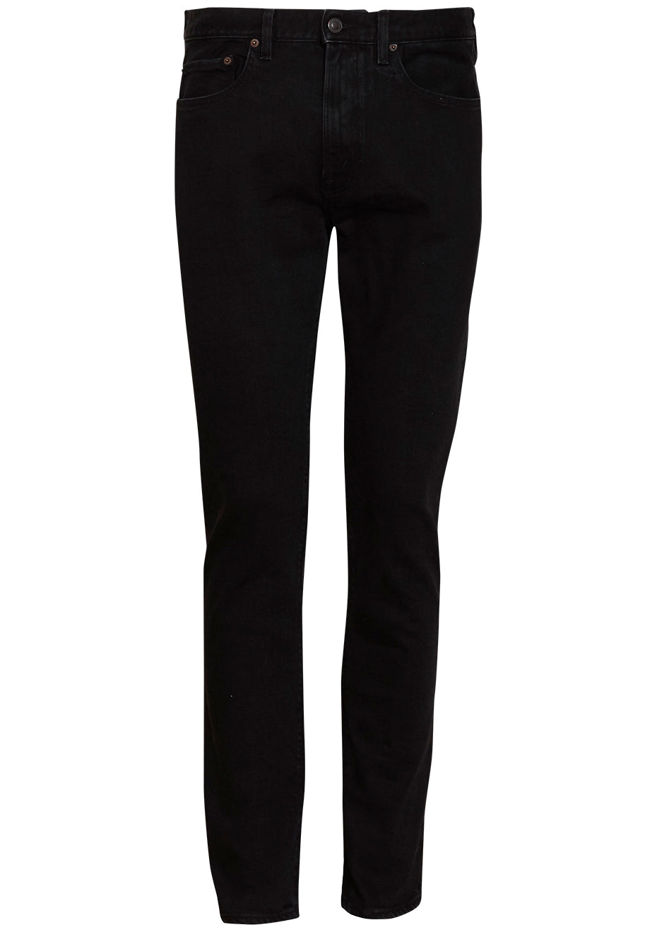 TM005 Black 2 Weeks Tapered Jeans