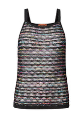 Missoni Black & Multi Knit Tank Top shop online lot29.dk