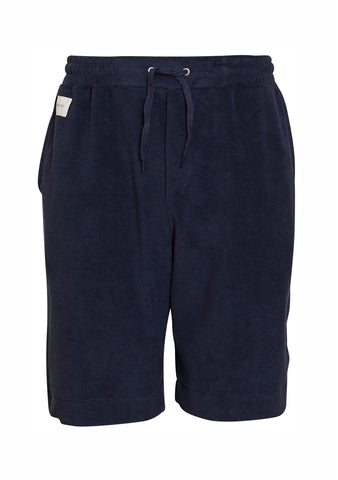 Dark Navy Terry Shorts