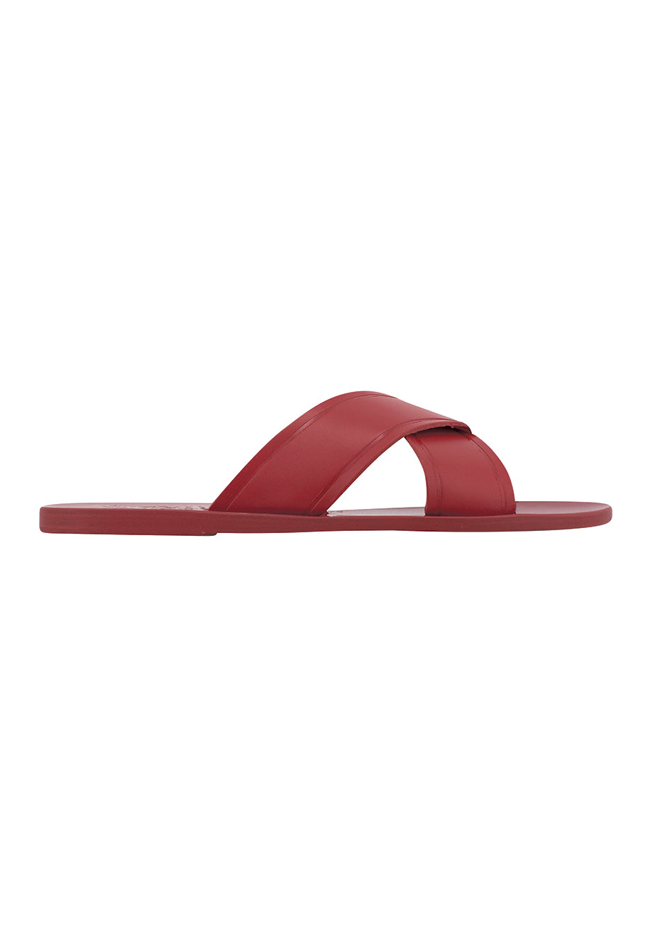 All Red Thais Sandals