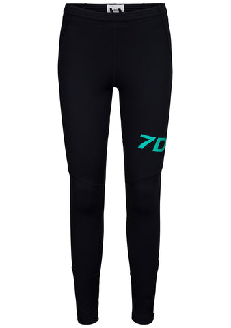 7 DAYS Black Basic Tights Mens
