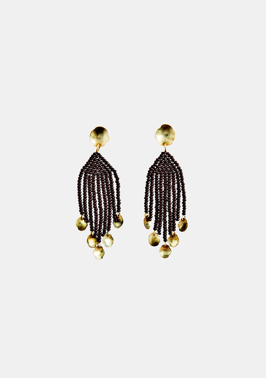 Brown Tijuana Mini Dangling Earring