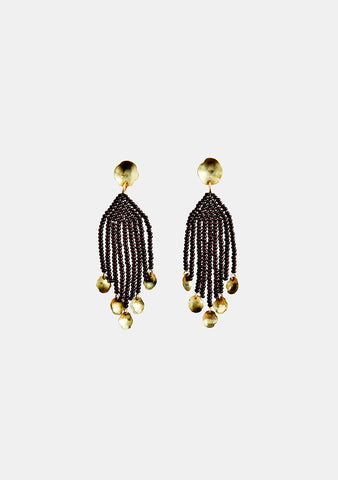 MAREgold Brown Classic Mini Dangling Earring shop at lot29.dk