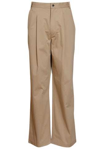 Tonsure Beige Oversize Workwear Trousers