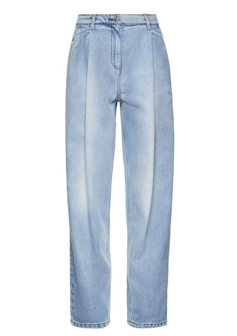 Magde Butrym Totenes Light Blue Denim Pants shop online at lot29.dk
