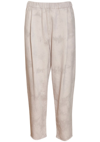 Raquel Allegra Tea Stained Tie Dye Cropped Sweatpants