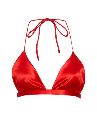 Deitas Red Triangle Bra