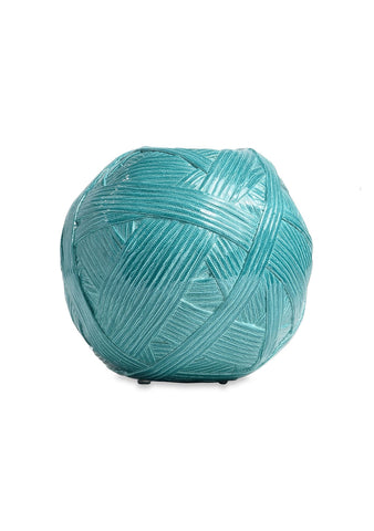 Missoni Home Small Turquoise Gomitolo Vase
