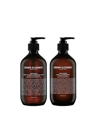 Grown Alchemist Twin Set Hand Wash & Hand Cream