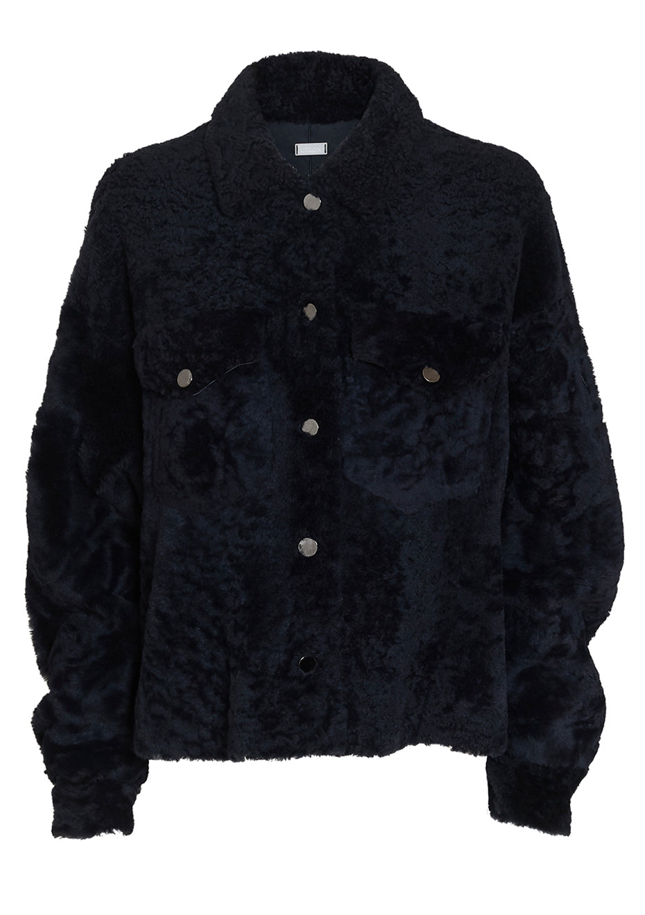 Shadow Blue Shearling Jacket