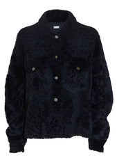 UTZON Shadow Blue Shearling Jacket