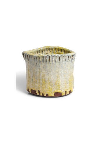Leif Sigersen Yellow Ceramic Vase