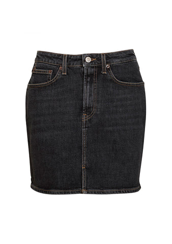 Jeanerica W001 Black Stone Denim Skirt