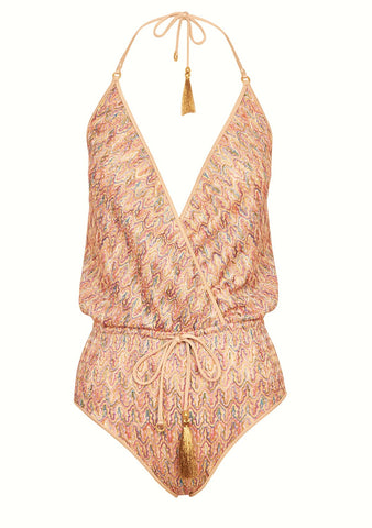Hanne Bloch Multi V Swimsuit shop online at lot29.dk