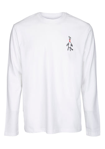 Tonsure White Bird Long Sleeve T-shirt