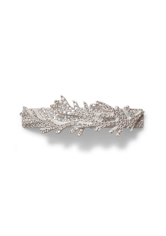 MC Davidian White Coral Slim Hair Clip
