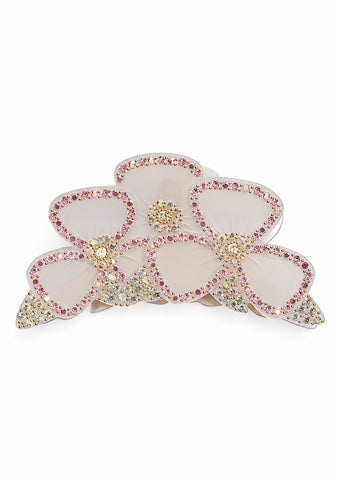 MC Davidian White Flower Hair Clip