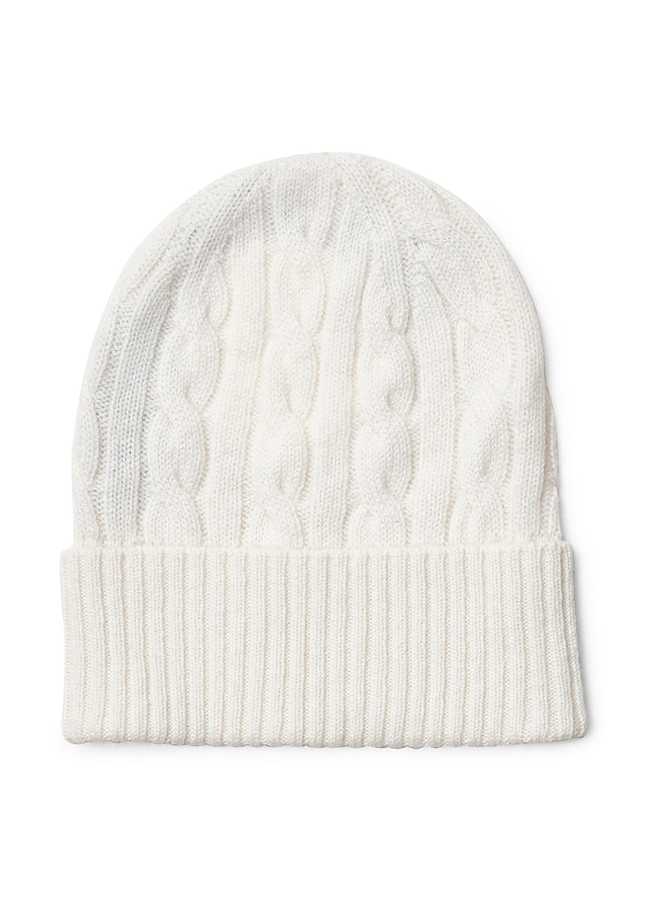 White Cashmere Hat