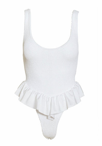 Hunza G White Denise Swimsuit