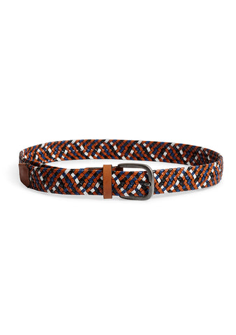 Etro Woven Leather Belt