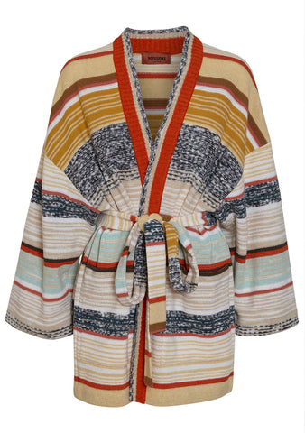 Missoni Women Striped Wrap Cardigan