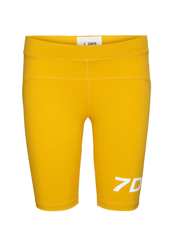 7 DAYS Yellow Sprinter Tights