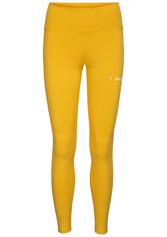 7 DAYS Yellow SV Tights
