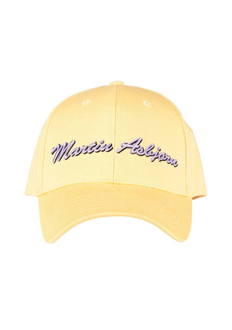 Martin Asbjørn Yellow Baseball Cap LOT#29