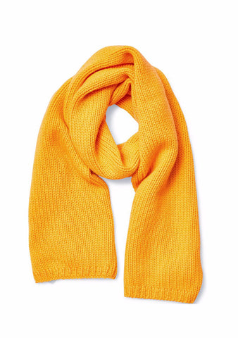 Bad Habits Yellow Cashmere Scarf
