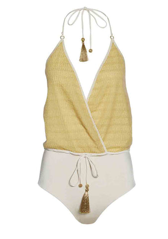 Hanne Bloch Yellow Swimsuit