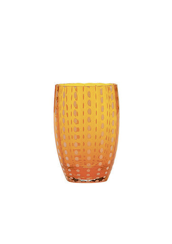 Zafferano Orange Perle Tumbler