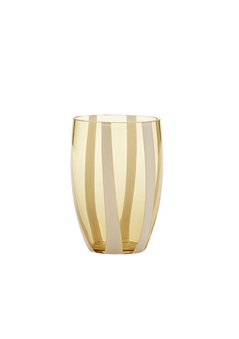 Zafferano Yellow Gessato Tumbler