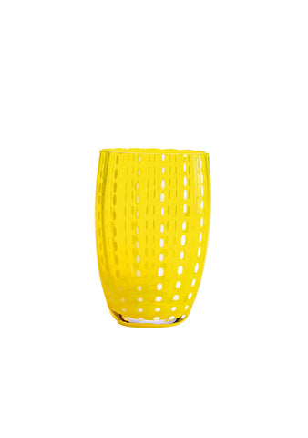 Zafferano Yellow Perle Tumbler