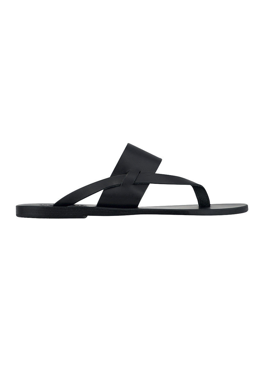 Black Zenobia Sandals