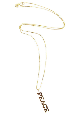 Zoe Chicco Peace Necklace